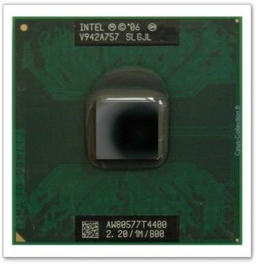 Intel Pentium Dual-core Mobile T4400 2,2 Ghz/1m/800 Slgjl