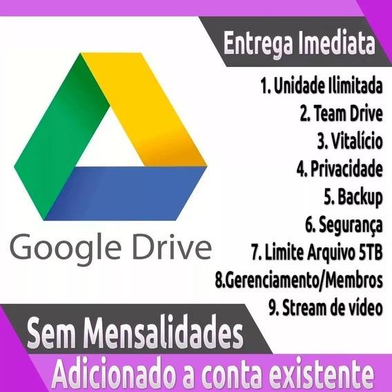 Google Drive Ilimitado - Adicione À Sua Conta Atual Do Gmail