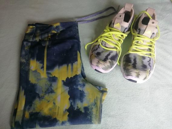 Combo Zapatillas Training Y Calzas adidas Mujer Envío Gratis