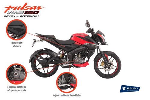 Imagen 1 de 5 de Motocicleta Pulsar Ns 160
