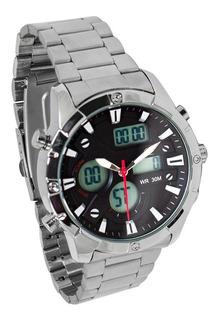 P1811as-m0701 - Reloj Pegaso Metalico Pulso Acero Ana-d.