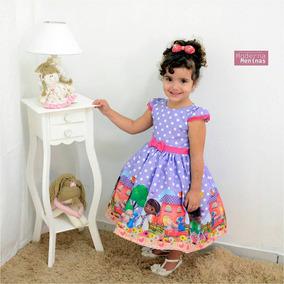 Vestido Infantil Da Doutora Brinquedo