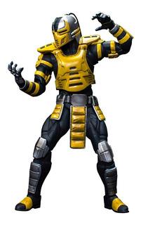 Mortal Kombat Cyrax Storm Collectibles Robot Negro