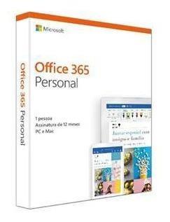 Microsoft Office 365 Personal Assinatura Anual Para 1 Usuário Pc E Mac