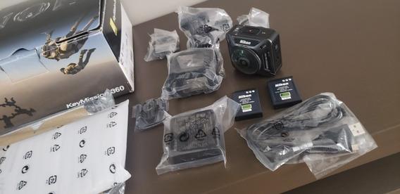 Câmera Ação Nikon Keymission 360 4k Ultra Hd