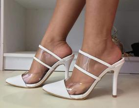 231e3c9e13 Tamanco Salto Fino Luxo - Sapatos no Mercado Livre Brasil