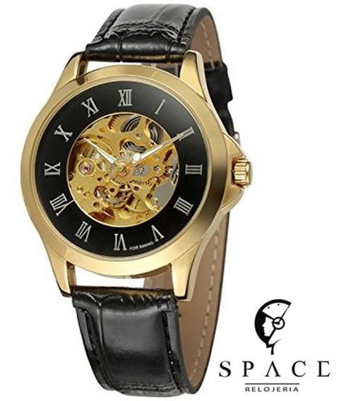 Reloj Skeleton Caballero Vgeby, Automático, Envío Gratis.