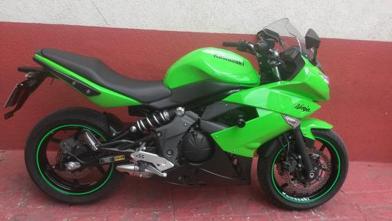 Kawasaki Ninja 650 R 2012 Verde Freio Abs