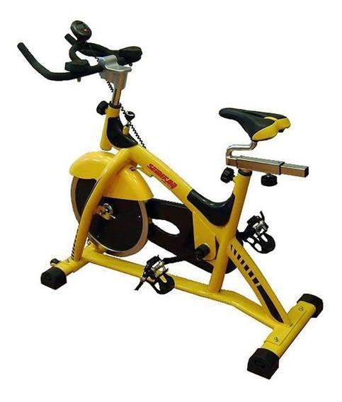 Bicicleta De Spinning Semikón Te869hp Disco De 13kg Cn Envio