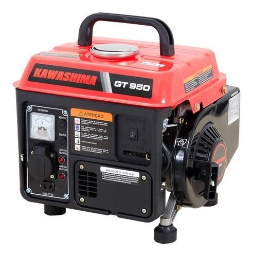 Gerador D Energia A Gasolina 1,8hp Gt 950 110v Kawashima