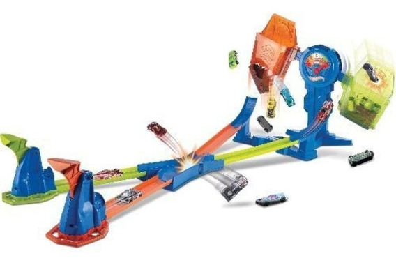 Pista Hot Wheels Desafio Do Equilibrio Extremo Mattel Frh34