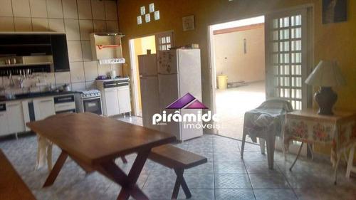 Casa Com 3 Dormitórios À Venda, 170 M² Por R$ 340.000,00 - Travessão - Caraguatatuba/sp - Ca6129