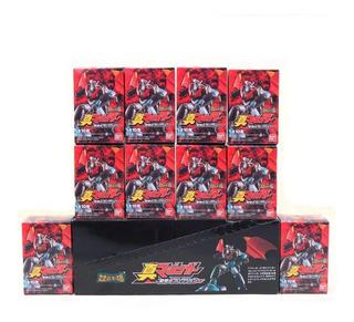 10 Figuras Mazinger Z Y Co. 4 A 6 Cms. Microplush. Caja.