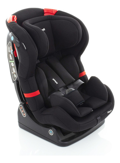Cadeira De Carro Maya Infanti Recline Até 25kg Black Storm