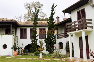 Casa Com 5 Dormitórios Para Alugar, 600 M² Por R$ 7.000/mês - Royal Park - Itapecerica Da Serra/sp - Ca1054