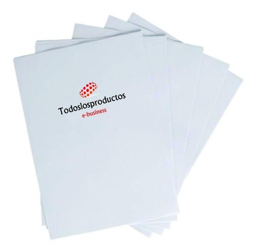 Imagen 1 de 8 de Papel Para Sublimar Tlp Tamaño A4 Para Tazas Playeras Gorras