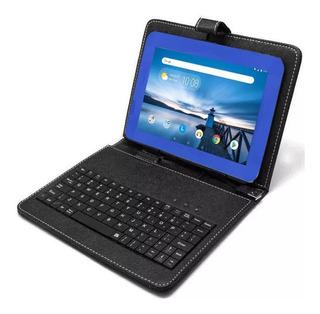 Combo Tablet Maxwest 7 Azul 1gb/8gb + Funda Con Teclado