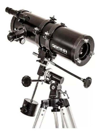 Telescópio Greika Newtoniano Equatorial 1000x114mm 1000114eq