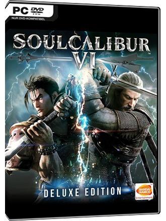 Soulcalibur Vi + 2 Jogos ( Mídia Física ) Pc - Dvd
