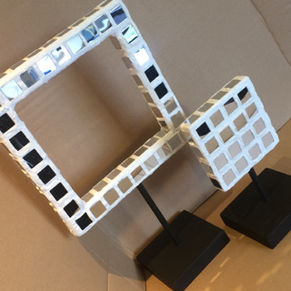 Cuadros Escultura Espejo Decorativo Sala Elaborado A Mano