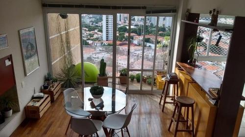 Apartamento Com 2 Dormitórios À Venda, 160 M² Por R$ 2.500.000,00 - Vila Madalena - São Paulo/sp - 6626