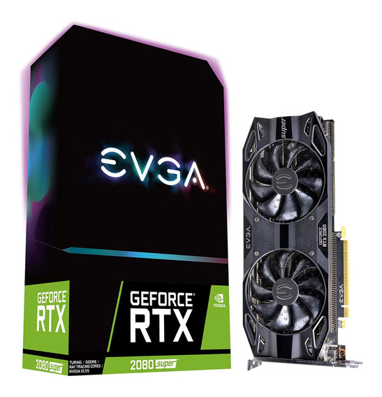 Placa Video Geforce Gtx 2080 Super 8gb Evga Black 4