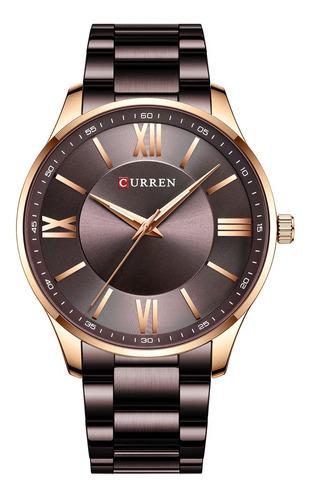Curren Relógio De Quartzo Bracelete De Aço Inoxidável