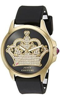 Juicy Couture 1901142 Jetsetter Analógico Pantalla Reloj De