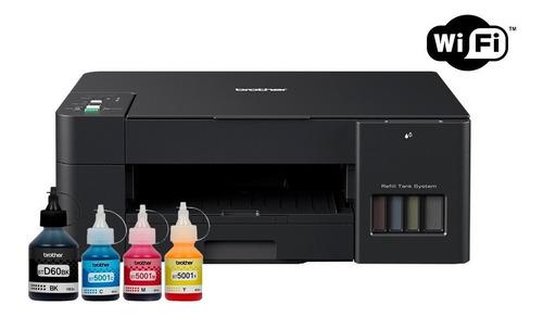 Impresora Multifunción Brother T420w Wifi + Tintas Sist.cont