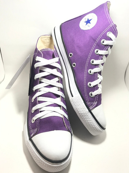 Tenis Converse All Star Ct Core Hi Bota Roxo