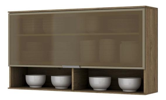 Armário De Cozinha Henn Aéreo Integra C/ 1 Porta Basculante