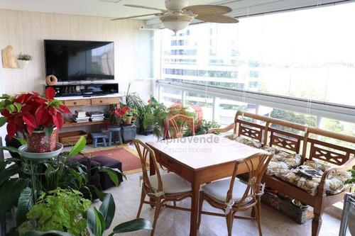 Apartamento Com 3 Dormitórios À Venda, 182 M² Por R$ 1.800.000,00 - Alphaville - Barueri/sp - Ap22013