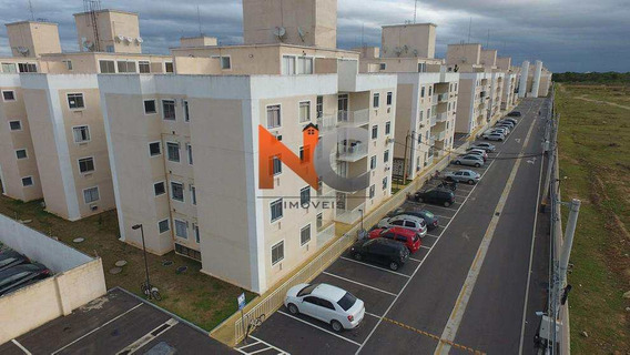 Apartamento Com 2 Dorms, Parque Califórnia, Campos Dos Goytacazes - R$ 133.000,00, 44m² - Codigo: 166 - V166