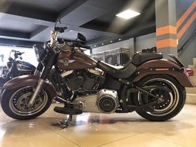 Fat Boy 2016 - Vermelha - Harley - Davidson