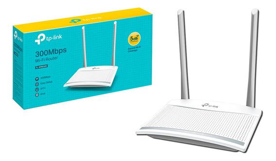 Router Inalambrico Tplink 300mbps Tl-wr820n Gtia 1 Año Bagc