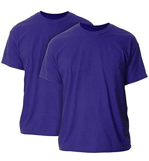 * Camiseta Playera T Shirt 2xl Gilden Hombre Purple