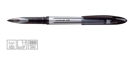 Caneta Esferográfica Uniball 0.7mm Escolar Traço Fino Preto