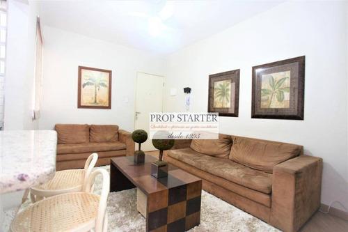 Imagem 1 de 10 de Apartamento Mobiliado Com 2 Dormitórios Para Alugar, 56 M² Por R$ 2.910/mês - Vila Buarque - Prop Starter Imóveis - Ap0757