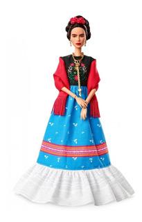Frida Kahlo Barbie Inspiradora Mujer Frida Kahlo Mattel