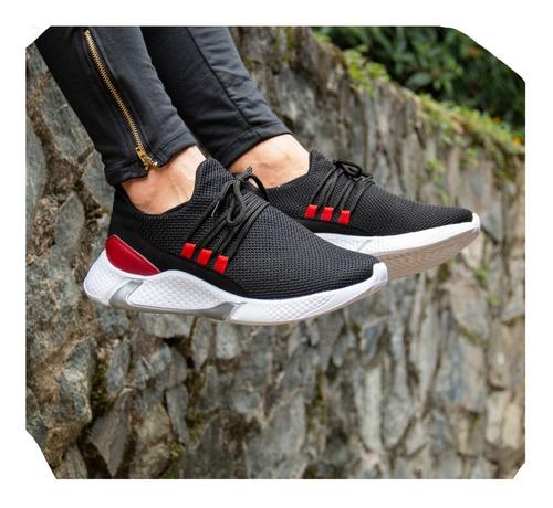 Zapatos Tenis Zapatillas Tricolor Deportivos Originales Maxi