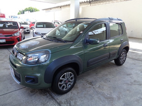 Fiat Uno 1.4 Way Mt 2016 Verde Amazon