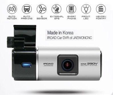 Câmera Veicular Kit Completo Iroad Ione 290v,  Gps Incluso.
