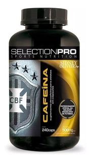 Cafeína 500mg Sidney Oliveira Selectionpro 240 Cápsulas