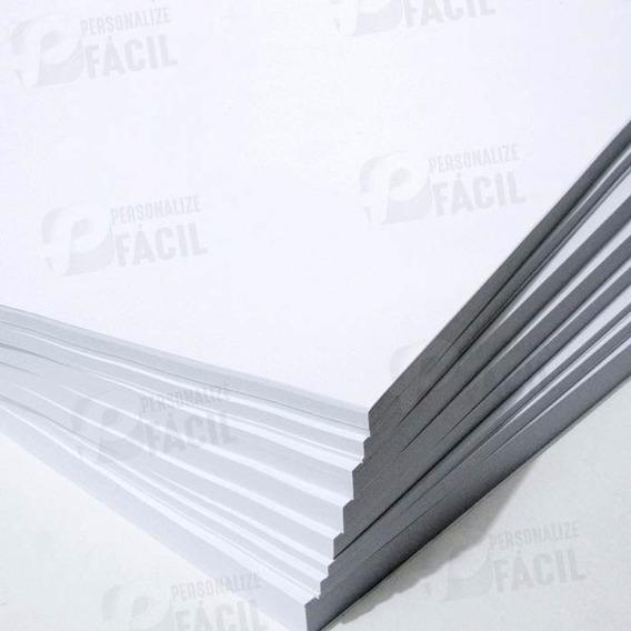 Papel Adesivo Fosco A4 100 Fls P/ Inkjet Jato Tinta E Laser