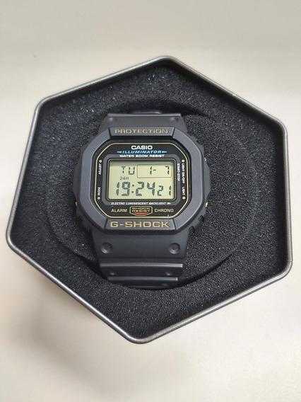 Relogio Casio G-shock Dw-5600 Dourado