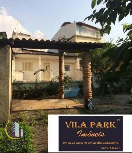 Terreno À Venda, 257 M² Por R$ 465.000,00 - Vila Osasco - Osasco/sp - Te0146