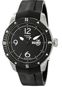 Relógio Tissot Masculino Navigator Automático Original Preto