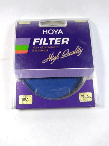 Filtro Hoya 80a 72mm Tokina Fotografia Conversão De Cor