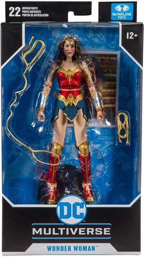 Boneco Wonder Woman Dc Comics Multiverse Mcfarlane - Fun