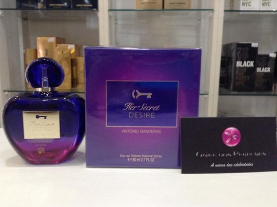 Perfume Her Secret Desire Edt 80ml Antonio Banderas